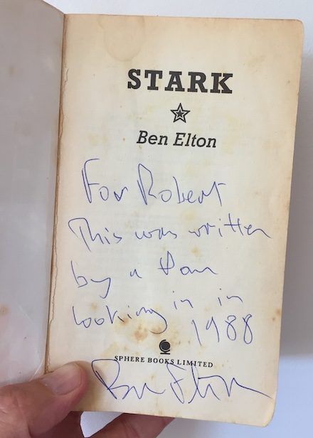 Stark - Written & signed by Ben Elton